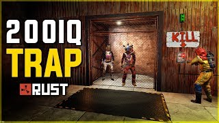 Download LURING PLAYERS into my 200IQ TRAP BASE - Rust Trap Base Gameplay Video