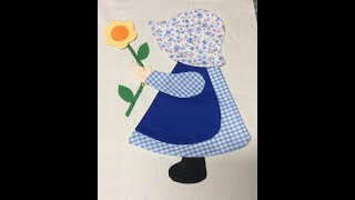 Download Sunbonnet Sue Applique quilt Video