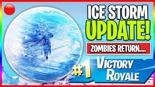 Download 🔴 NEW ″Ice Storm″ Map Update in Fortnite! // NEW Skins // 1000+ Wins (Fortnite LIVE Gameplay) Video