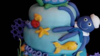 Download Underwater Theme / Baby Einstein-Baby Neptune Theme Fondant Cake Video