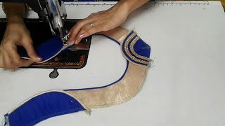 Download simple designer blouse cutting and stitching Video