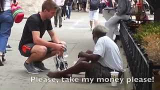 Download Giving to the Homeless Video