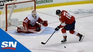 Download Aleksander Barkov Whiffs Badly On A Penalty Shot Video