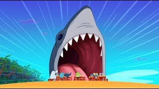 Download Zig & Sharko 🦈 REAL SHARK 🦈 The king of the sea 🌊 Cartoons for Children Video