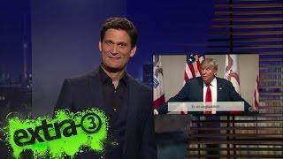 Download Christian Ehring zum Auftritt von Donald Trump und Sarah Palin | extra 3 | NDR Video