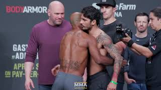 Download UFC 236 Ceremonial Weigh-In Highlights - MMA Fighting Video