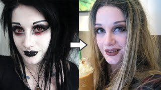 Download Goth to Basic White Girl Transformation   Black Friday Video