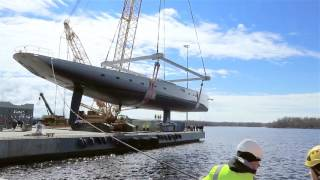 Download Baltic 175 Pink Gin VI Touching water Video