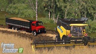 Download Caminhões Puxando Soja no Paraná Oeste - Farming 17 Mods Video