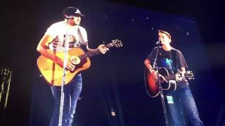 Download Make A Wish Child with Luke Bryan on Stage Video