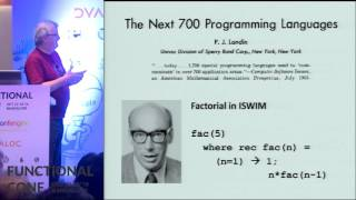 Download Why Functional Programming Matters by John Hughes at Functional Conf 2016 Video