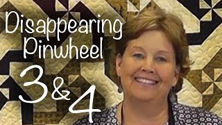 Download Disappearing Pinwheel 3 & 4: Easy Quilting With Layer Cakes! Video