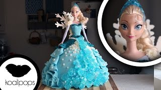 Download How to Make a 'Frozen' Elsa Cake   Become a Baking Rockstar Video