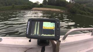 Download Lowrance elite 7ti live mode on Danube Video