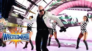Download Pitbull, Flo Rida, Lunchmoney Lewis &Stephen Marley perform at WrestleMania (WWE Network Exclusive) Video