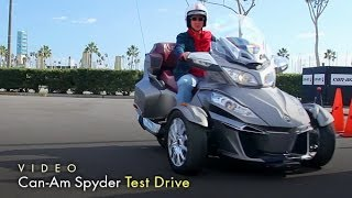 Download Can-Am Spyder Test Drive 2014 with Host Lisa Keating Video