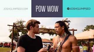 Download We visit a real Native American POW WOW / USA Video
