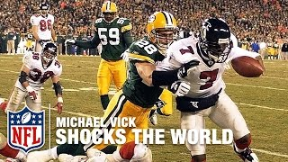 Download Michael Vick Shocks the World With the Falcons | Mike Vick: A Football Life | NFL Films Video