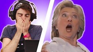 Download Irish People React To Hillary Clinton Video