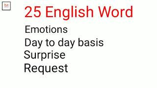 Download 25 English Word in Hindi you should know  Happy2Smile Video