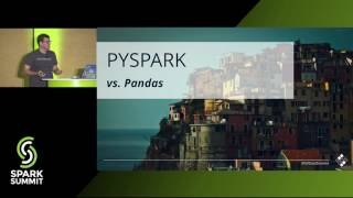Download Data Wrangling with PySpark for Data Scientists Who Know Pandas - Andrew Ray Video