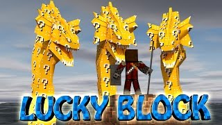 Download Minecraft | LUCKY BLOCK BOSS CHALLENGE - 3 Headed Hydra! (Hydra, Bosses, Mythical Mobs) Video