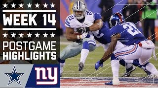 Download #9 Cowboys vs. Giants | NFL Week 14 Game Highlights Video