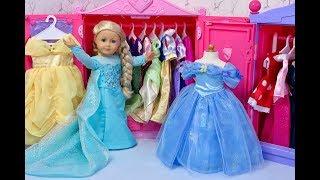 Download American Girl Doll Disney Princess Closet Tour! Video