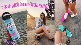 Download transforming into the ultimate VSCO girl for a day... Video