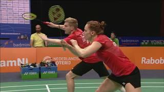 Download Ellis / Smith vs Arends / Piek (XD, Final) - Yonex Dutch Open 2017 Video