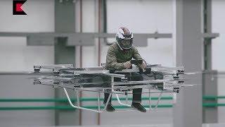 Download Kaláshnikov presenta su concepto de auto volador Video