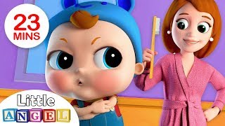 Download No No, Baby Wants The Big Boy Brush | Nursery Rhymes by Little Angel Video