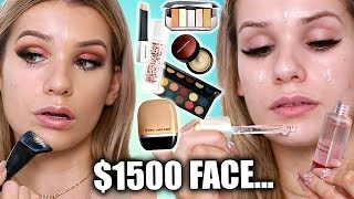 Download Testing Full Face of LUXURY Makeup... WAS IT WORTH IT? Video