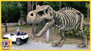 Download [120분 연속보기] 베스트 장난감 상황극 모아보기 뼈다귀 공룡 서프라이즈에그 낚시 타요 폴리 [제이제이 튜브- JJ tube] Video