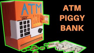 Download How to make an ATM PIGGY BANK at Home Just5mins #2 Video