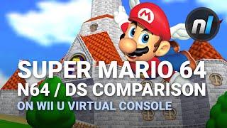 Download Super Mario 64 DS / N64 on Wii U Virtual Console Comparison Video