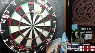 Download Rattlesnake vs Wildfl0wer -WDA darts Video