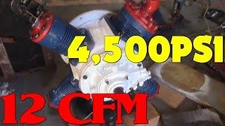Download 4,500PSI AIR Compressor Rebuild Video