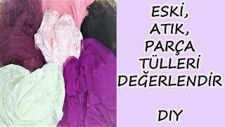Download Eski, Atık, Parça Tül Projeleri | Old, Waste, Piece Tulle Projects Video