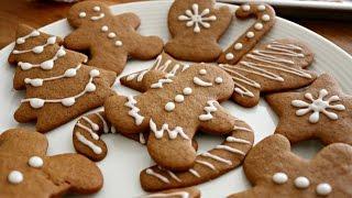 Download Christmas Gingerbread Men Cookies | sweetco0kiepie Video