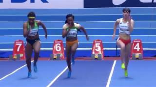 Download Women 60M Heat 1& 2 Birmingham World Championship Indoor Athletics hips 2018 Video