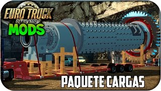 Download Cargo Pack Pegasus | Cargas Grandes | Euro truck simulator 2 | 1.17 - 1.18 Video