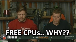 Download Get Your FREE* AMD CPU... no seriously... WAN Show Feb. 16 2018 Video