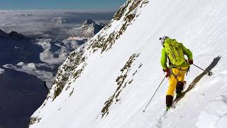 Download EDW| Ep. 16 Skiing Cervino Matterhorn east face Video