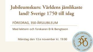Download Jubileumskurs: Världens jämlikaste land? Sverige 1750 till idag Video