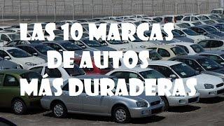 Download las 10 marcas de autos más duraderas. Video