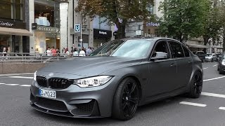 Download Loud BMW M3 F80 w/ Akrapovic Straight Pipes! Video