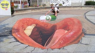 Download 3d Chalk Art Street Painting Video
