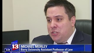 Download Michael Morley on News13 Talking about Florida Supreme Court hearing Video