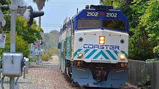 Download Carlsbad Village - Highspeed surfliners, Coaster and Metrolink Video